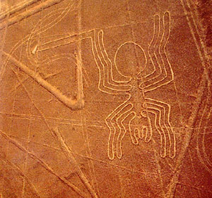 Рисунки плато Наска в Перу